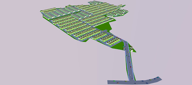 site plan perumahan dwg