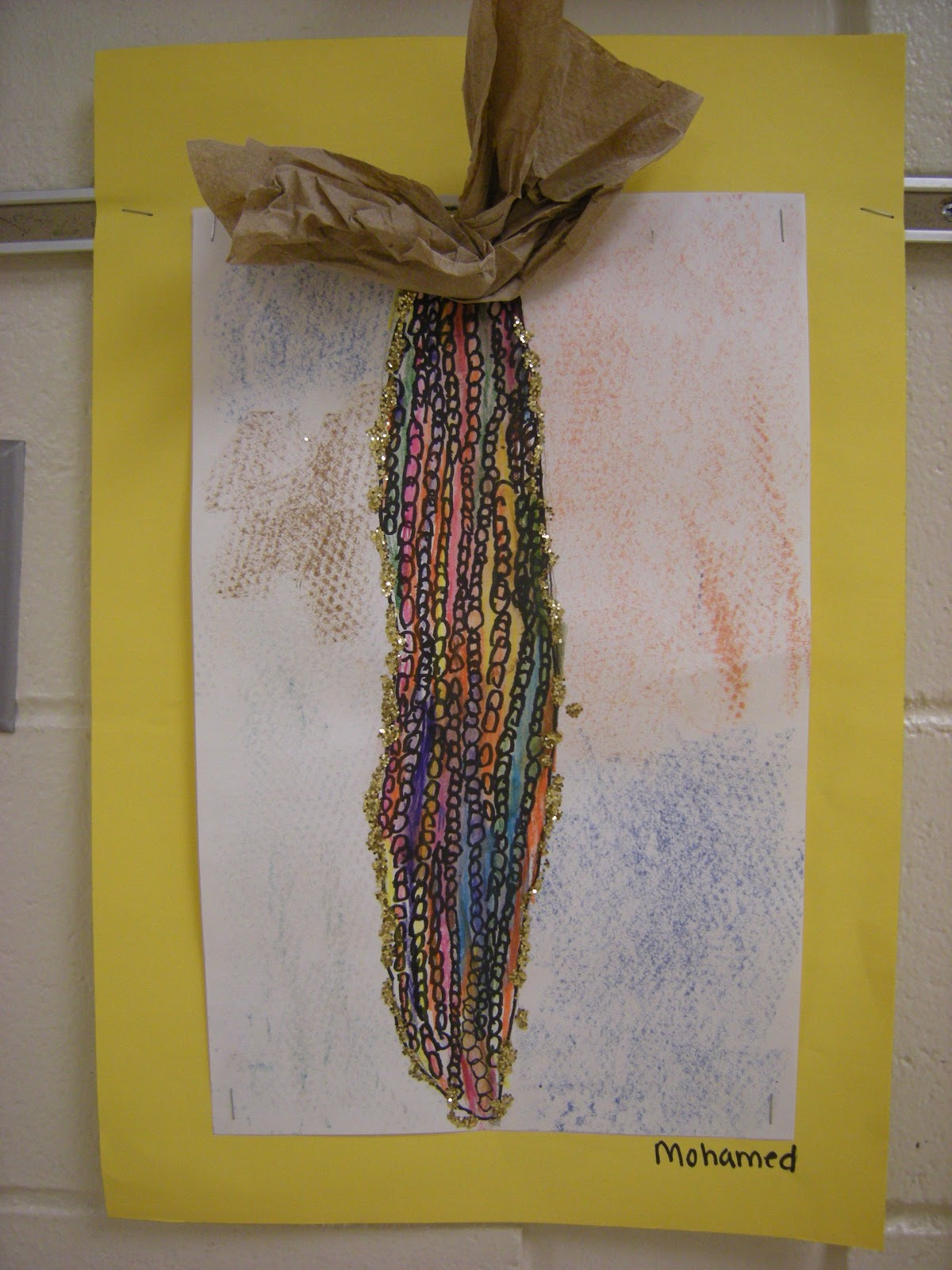 What S Happening In The Art Room Indian Corn