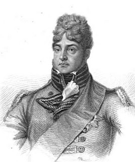 George IV  from Huish's Memoirs of her late  royal highness Charlotte Augusta (1818)