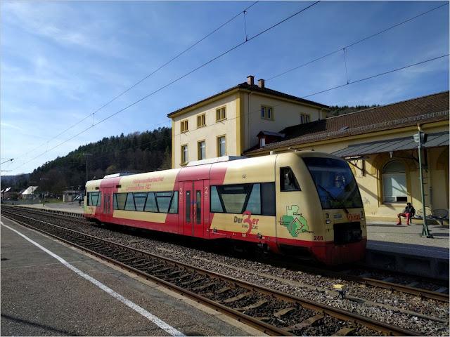 Diesel-Triebwagen der Hohenzollerische Landesbahn AG (HzL)