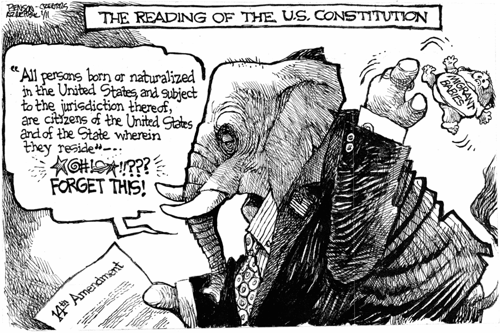 14th Amendment Old Skool Vs New Skool Constitution Style