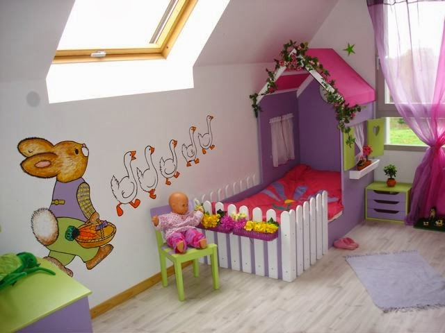diseño cama original infantil