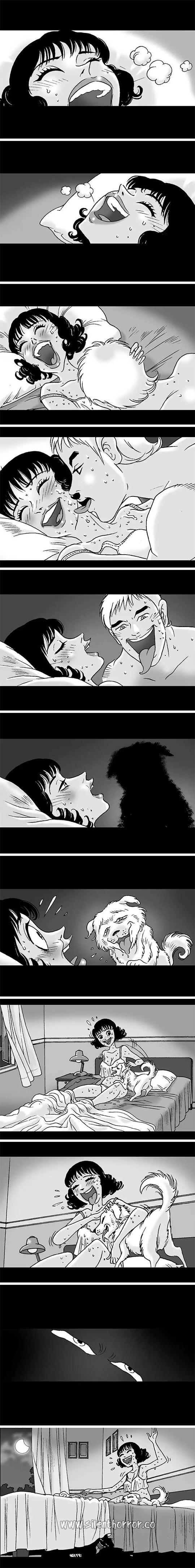 Silent Horror chap 130: Thỏa mãn cùng chó cưng