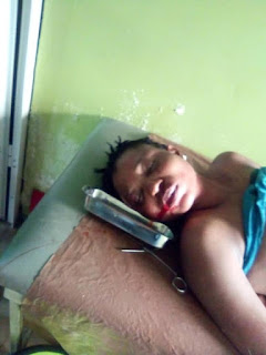 Policeman Beats Woman To Coma After Quarrel In Lagos (Graphic Photos)