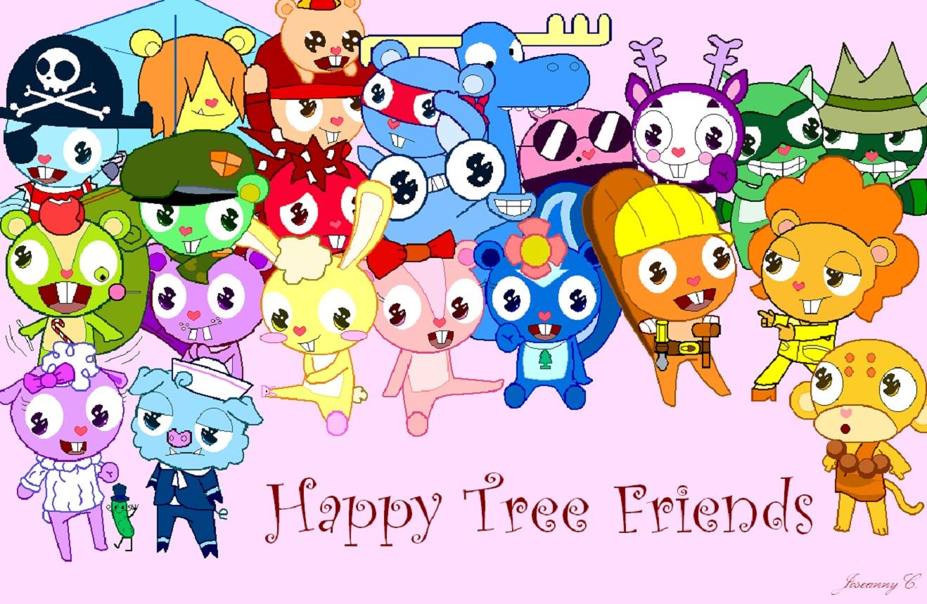 Disney HD Wallpapers: Happy Tree Friends HD Wallpapers