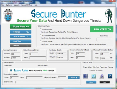 Secure Hunter Anti Malware Pro Sundeep Maan