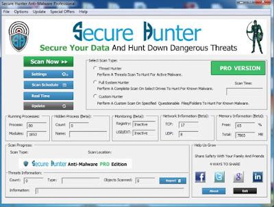 Secure Hunter Anti Malware Pro Sundeep Maan