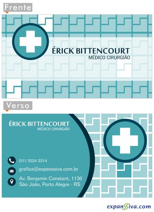 15 cartoes de visita criativos medicos 02 - 15 Cartões de Visita Super Criativos para Médicos