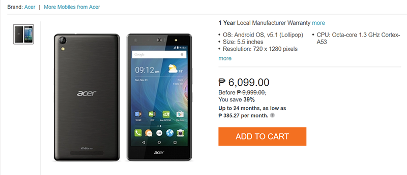 Sale Alert: Acer Liquid X2 With 3GB RAM Is Now Priced At Just PHP 6099!