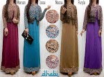 Gamis Spandex Cardi Songket SOLD OUT