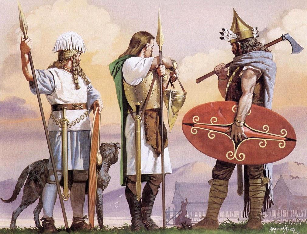 #Celtas, Povos de Origem Europeia (1200 A.C.)