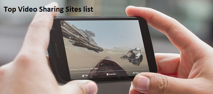 Top video sharing sites list-2865