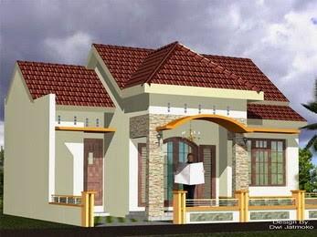 model rumah sederhana tapi kelihatan mewah 6