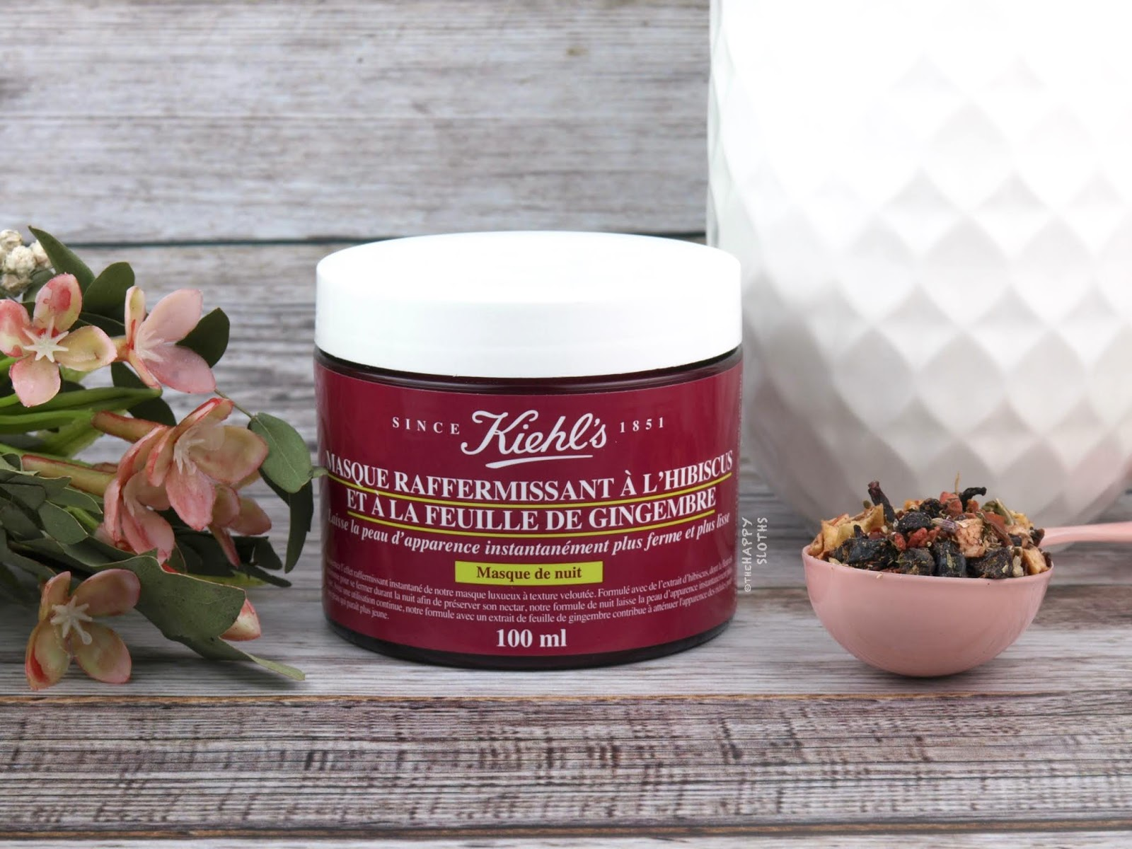 Kiehl's | Ginger Leaf & Hibiscus Firming Mask: Review and Swatches