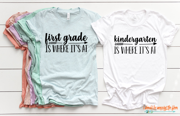 Grade Level T-Shirt Ideas