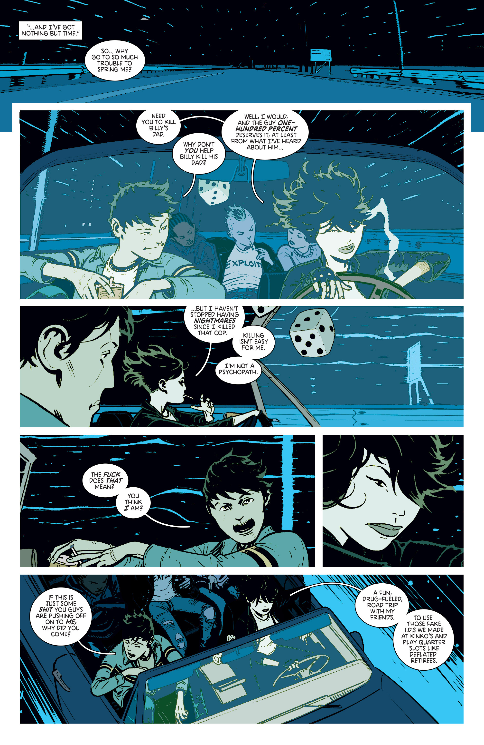 Read online Deadly Class comic -  Issue #4 - 11