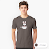 april rabbit in a teacup t shirts for women
