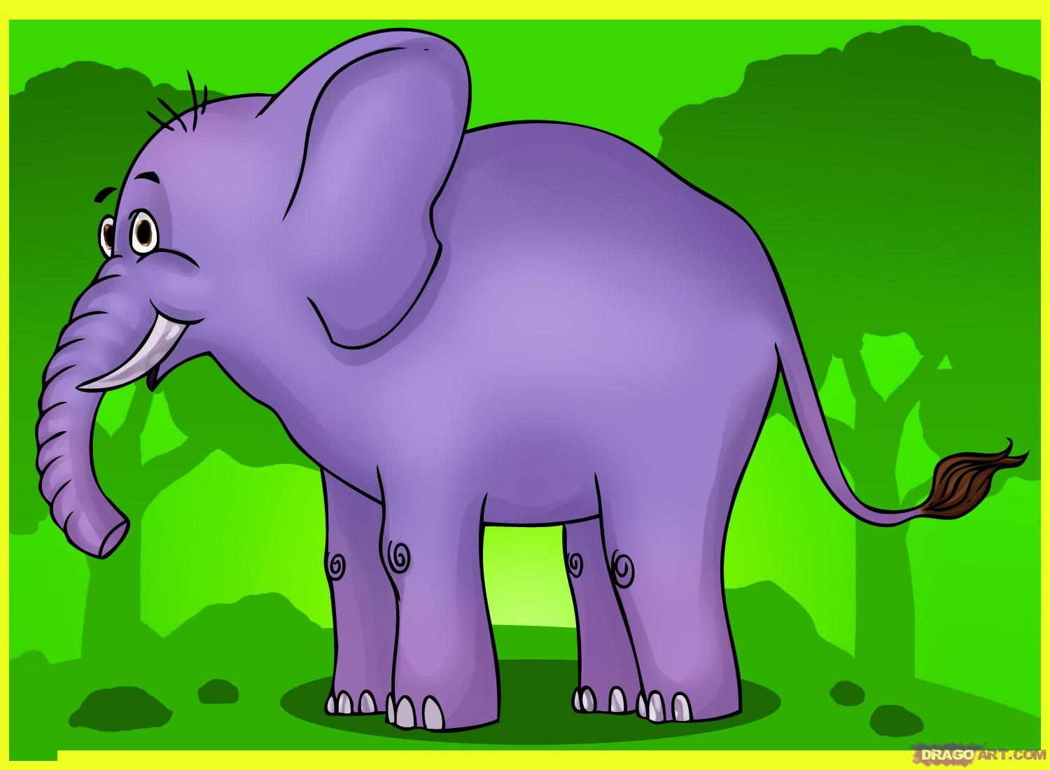 cartoon elephant wallpaper - photo #39