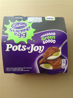 cadbury screme egg pots of joy green goooo