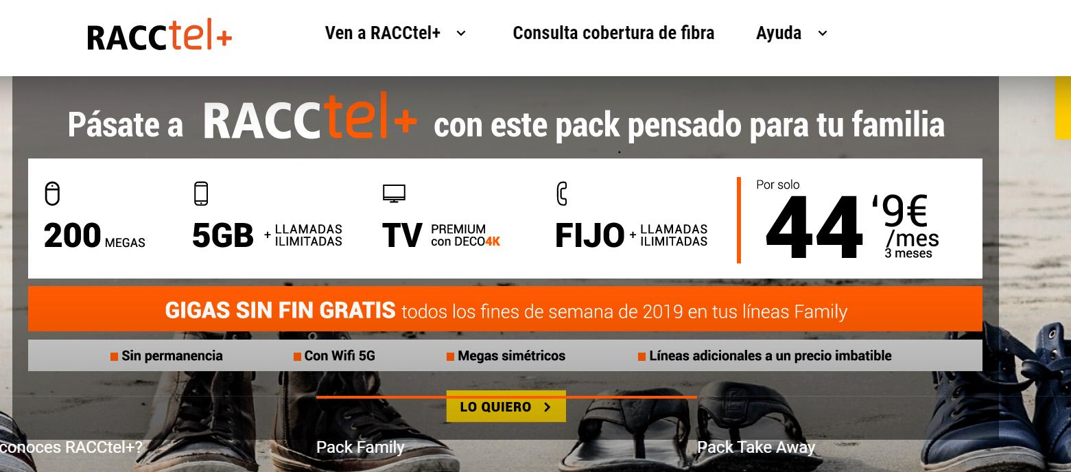 Racctel+ nueva imagen