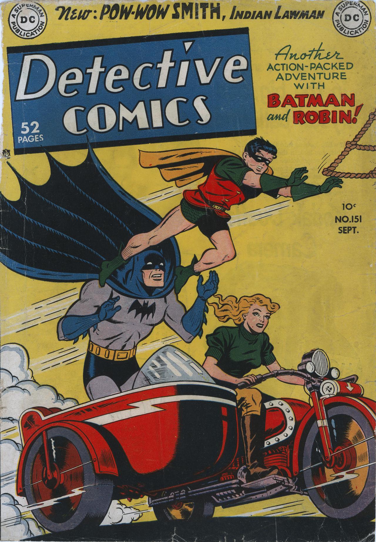 Detective Comics (1937) 151 Page 1