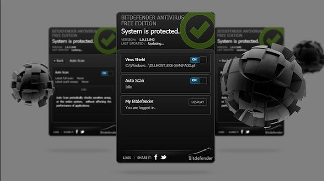افضل البرامج Bitdefender Antivirus Free الحماية من الفيروسات