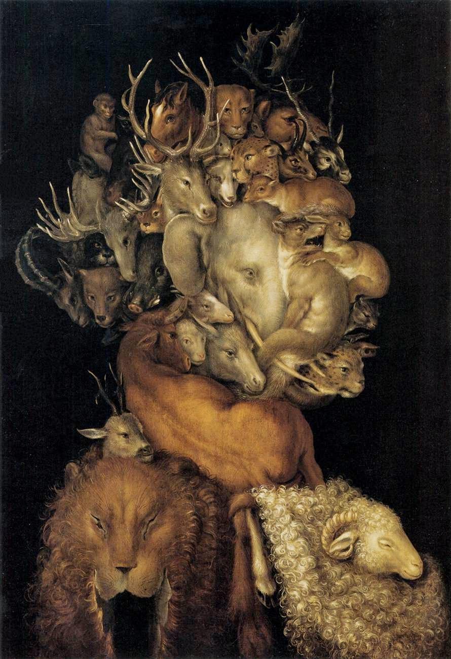 """Terra - Giuseppe Arcimboldo e suas fantásticas pinturas ~ Inclui """"As Quatro Estações"""""""
