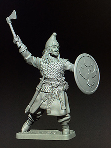 MZ627 Easterling Champion miniature preview by Mithril Miniatures.