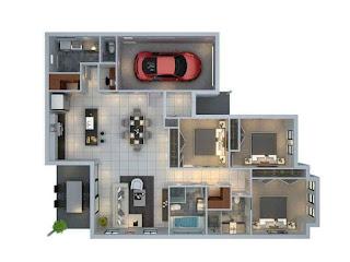 desain rumah minimalis modern dan unik