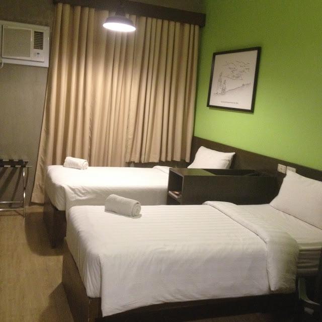 Standard room at BIG Hotel