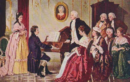 beethoven and mozart meet