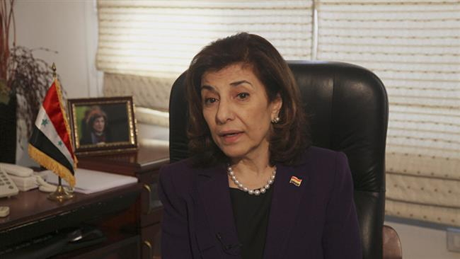 Syrian conflict nearing its end: Bouthaina Shaaban, the political and media adviser to Syrian President Bashar al-Assad