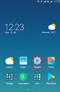 Cara manggandakan aplikasi android di xiaomi