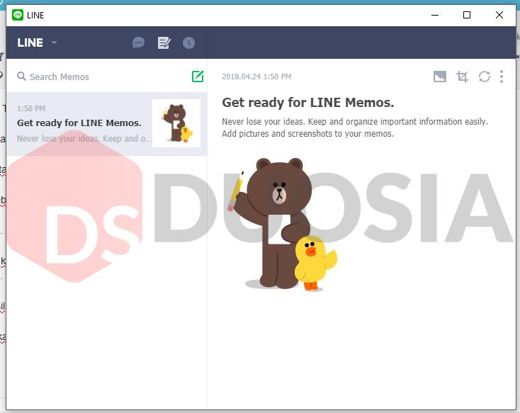 cara chat di line browser