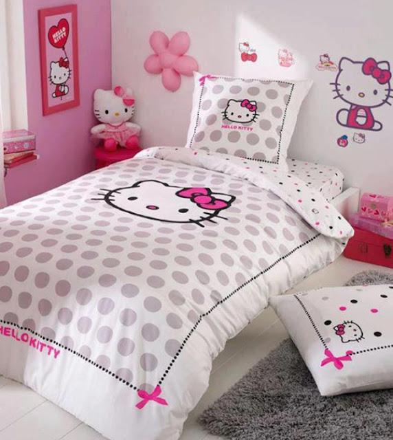 Hedendaags Hello Kitty Bedroom Design | Best Bathroom In Ideas OP-76