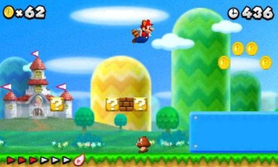 NEW SUPER MARIO BROS  2 announced for the Nintendo 3DS