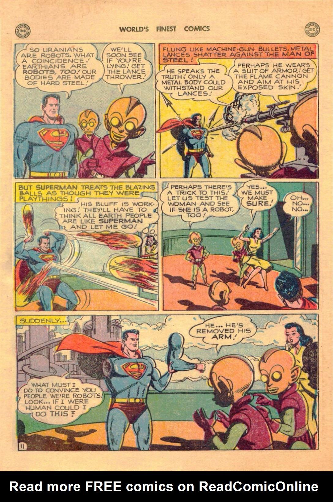 Read online World's Finest Comics comic -  Issue #42 - 13