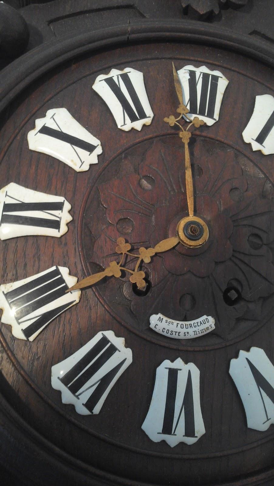 ancienne pendule horloge carillon. Black Bedroom Furniture Sets. Home Design Ideas