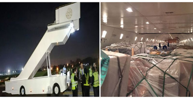 Turun Dari Pesawat, Lihat Eskalator Khusus Raja Arab Saudi