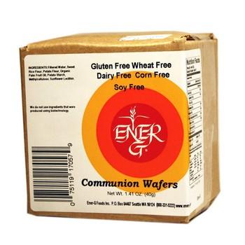 Ener G Foods Communion Wafers Gluten Free