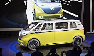 VW sagte, um Microbus-styled electric Minivan zu genehmigen