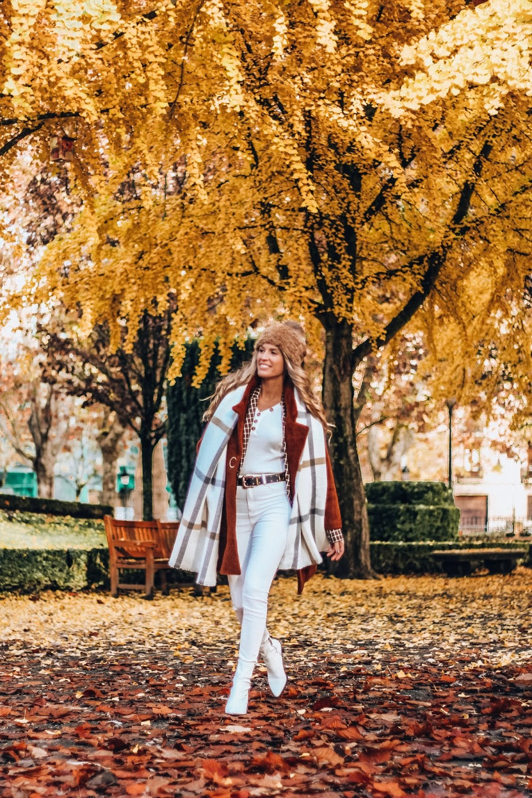 total white look en invierno