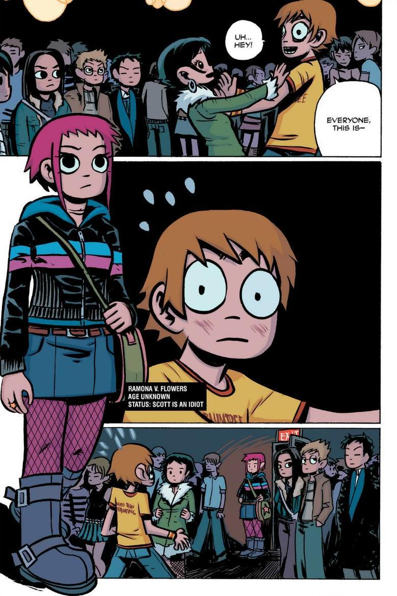 Read online Scott Pilgrim comic -  Issue #1 - 111