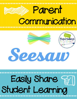 parent communication is easy using the Seesaw app