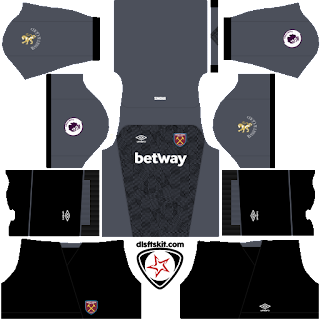 West Ham United FC 2018 - 2019 GK Home Kit