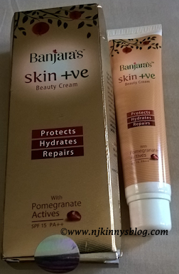 Banjara's Skin +ve Beauty Cream Review