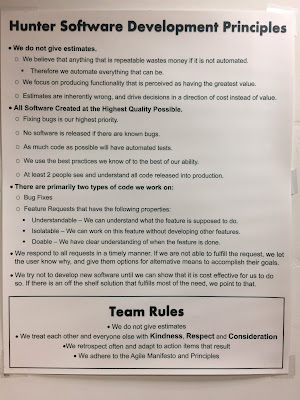 Software Development Principles and Team Rules