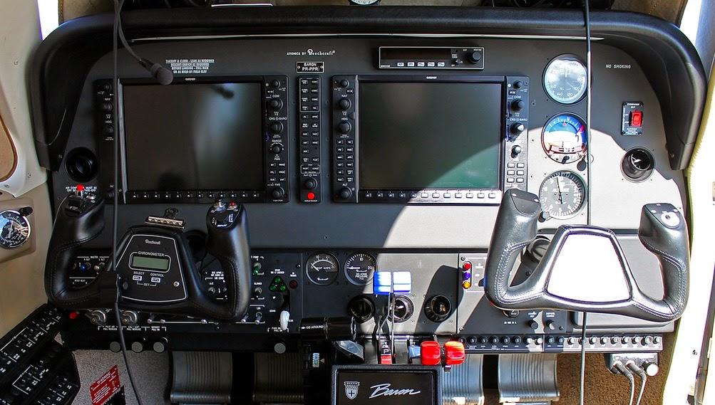 Beech Baron G58 Home Cockpit (Flightsimulator)