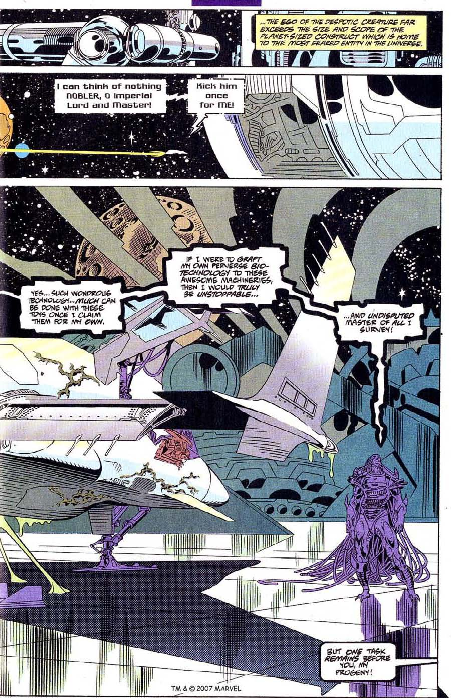 Read online Silver Surfer (1987) comic -  Issue #107 - 25
