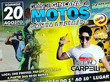 Gincana de Motos em Santa Luzia acontece neste domingo (20) ao som de Pedro Carpelli